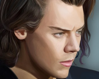 Harry Styles Artprint