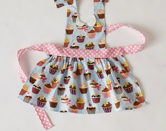 Child's Gidget Full Apron Cupcakes
