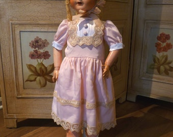 "REDUCED Large French 301 Doll 28"" Walker"