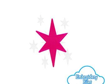 EMBROIDERY FILES: Twilight Sparkle Cutie Mark - Embroidery Machine Design File