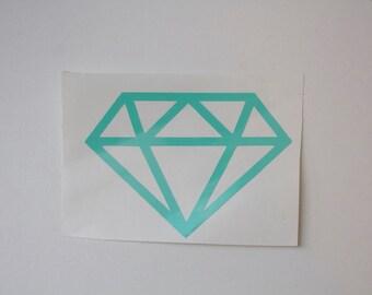 Diamond Vinyl Decal - Vinyl - Sticker - Car Decal