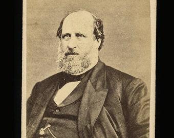 Rare CDV Photo of BOSS TWEED Tammany Hall New York Politician