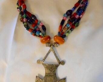 Tuareg Tribal Necklace