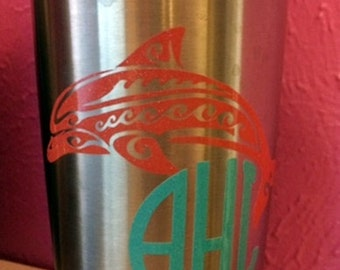 Personalized Stainless Steel Tumbler - 20 oz.