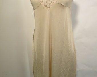 Vintage Lacy Full Slip