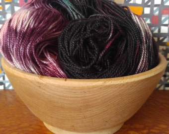 Tight Twist Hand Dyed Fingering Weight Superwash MCN Sock Yarn- Essence 400 yards