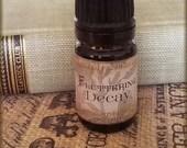 FLUTTERING DECAY Perfume Oil / Vegan Perfume oil / Crimson Peak