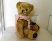 "Vintage Pedigree Bear - Mohair Bear - 1960's Toy - English Teddy - 12"" Bear"