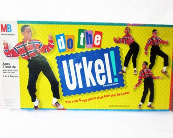 Vintage Do The Urkel Family Matters Board Game Complete 1991