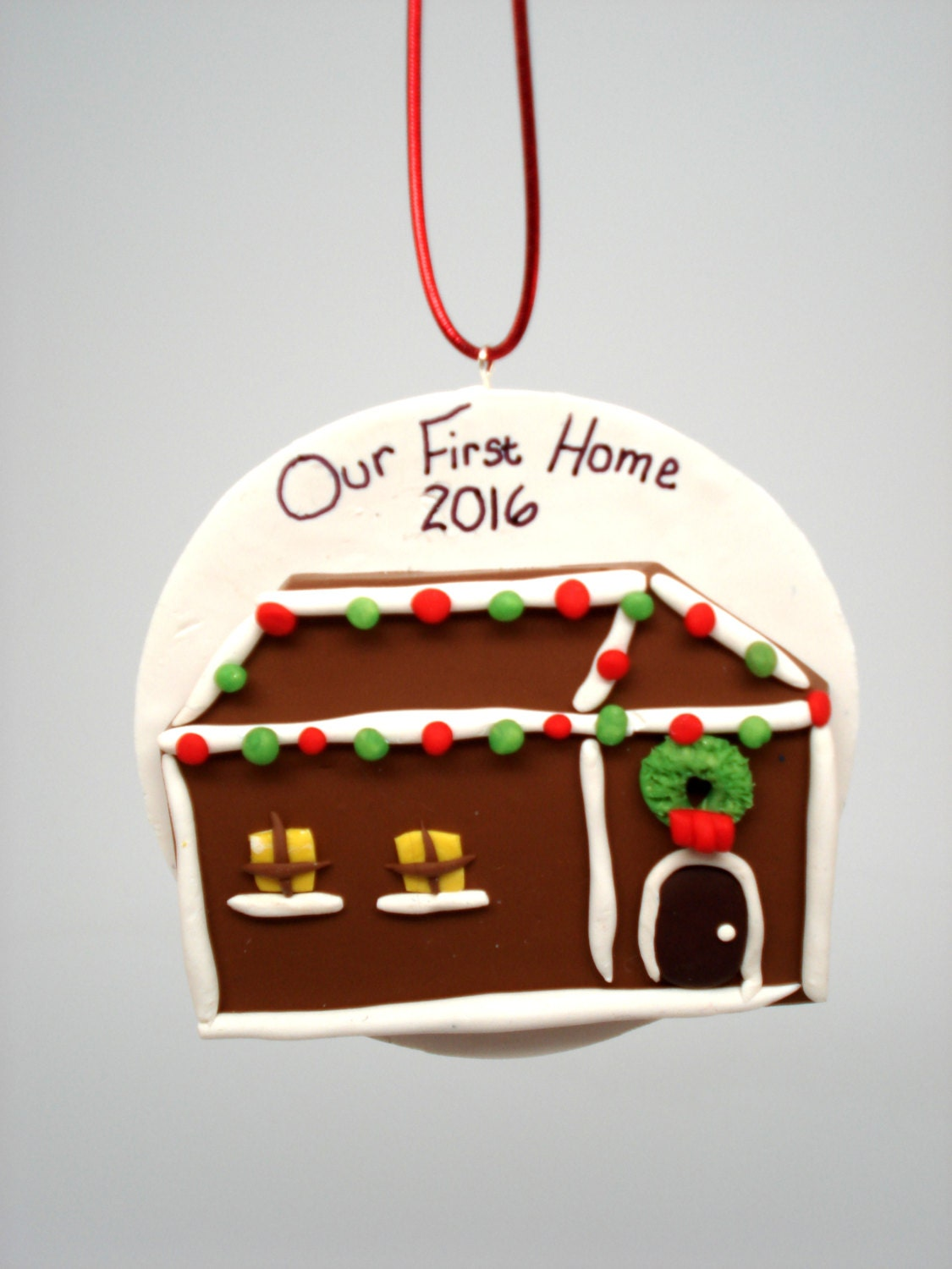 Our First Home Ornament New Home Christmas Ornament First Home