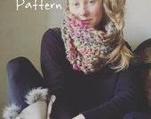 "The ""Candy Rain"" Knitting Pattern for Bulky Knit Cowl Yospun"