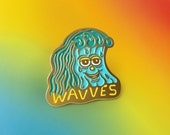Killer Acid x Wavves official pin