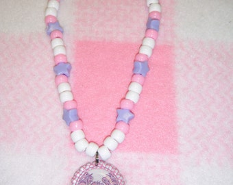 Abby Cadabby Inspired Bottle Cap Necklace