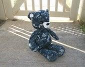 Military Uniform Daddy Bear - Memory Keepsake - Made to Order