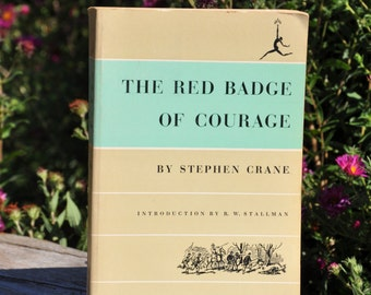The Red Badge of Courage, book by Stephen Crane, literary classic, civil war novel
