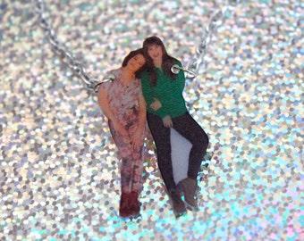 Broad City Necklace - Abbi & Ilana