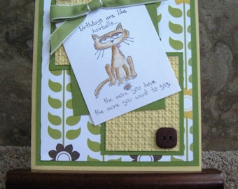 Handmade Birthday Card - Stampin Up
