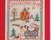 Gail Bussi SANTA'S COOKIE SHOP By Imaginating Counted Cross Stitch Pattern