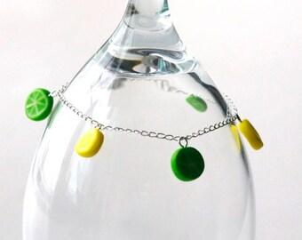 Lemons & Limes Charm Bracelet