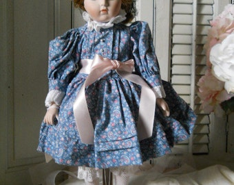 Vintage Goebel Limited EDition Musical Porcelain Doll Designed By Bette Ball #360/1000 Collectible Doll ca. 1989