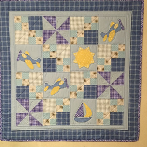 Airplane Quilt Pattern For Baby Boy Cleared For By