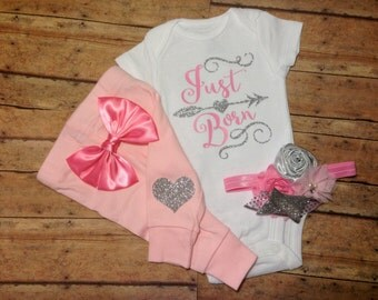 baby girl coming home outfit, baby girl clothes, newborn baby girl take home outfit, baby girl, gift, outfit, newborn girl clothes, girl