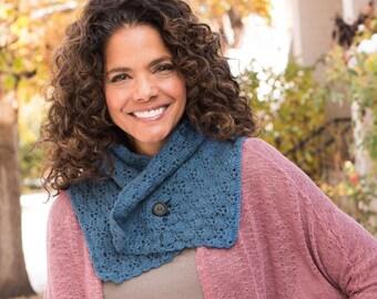 Crochet Pattern -- Radiant Shawlette -- Crochet Pattern