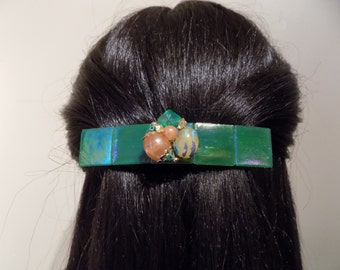 Barrette For Thick Hair/ Extra large Barrette/ Womens Gift