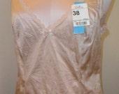 Vintage Camisole Beige Cami size 38 adonna
