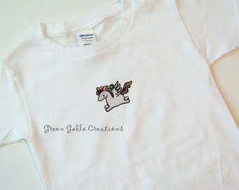 Too Cute Pegasus Children's T-shirt (can be personalized!)