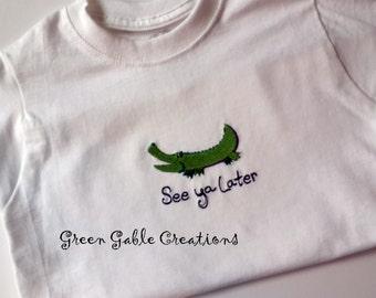 See Ya Later Alligator! Children's T-shirt