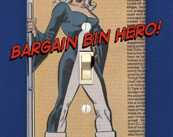Mockingbird - Superhero Light Switch Plate