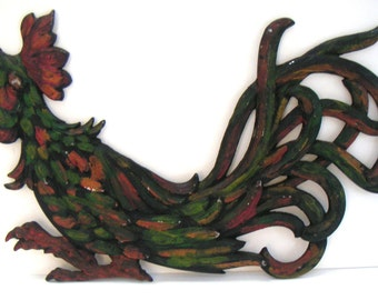 Vintage Rooster, Metal,Rustic,Colorful,Farm,Farm Animal,Country Kitchen,Home Decor