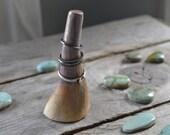 ceramic ring holder // mountain peak ring holder // plumsicle drip