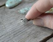 mountain stacking ring  // totem stacking ring // size 6.5