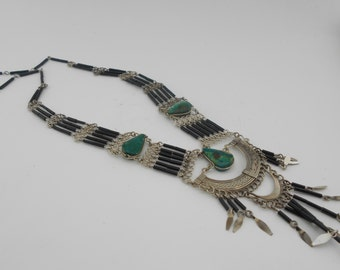Ethnic Necklace with Stones