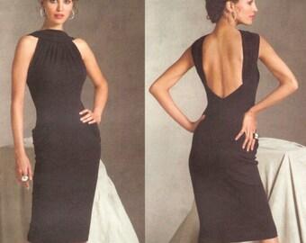 Hervé L. Leroux for Guy Laroche dress pattern for stretch knits -- Vogue Paris Original 2899