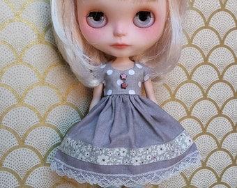 Polka Dot and Flowers Blythe Dress | Pullip Dress