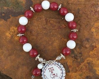 Texas A & M Bracelet