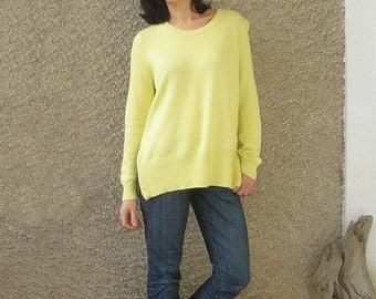 Vintage COTTON zippers sweater, size S-M
