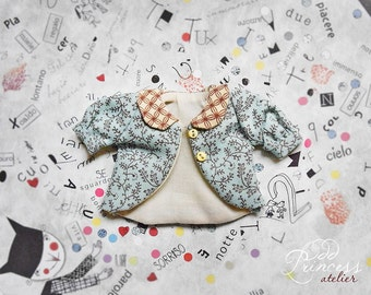 Sale!!!BLYTHE Ooak Jacket WEEKEND FUN, New Collection By Odd Princess Atelier, Shabby Chic, Vintage, Special Outfit