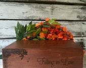 Wedding Wine Box, Wine Box Ceremony, Wedding Wine Ceremony,Wedding Gift, Anniversary Gift, Shower Gift, Keepsake Box, Personalized Wine Box
