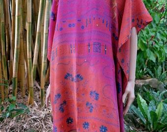 Bohemian Kaftan, Caftan, Cover up, Summer Dress