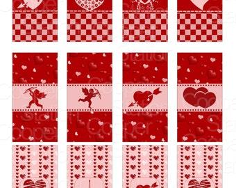 Printable Digital Valentine Hershey Mini Candy Bar Label