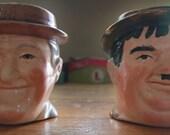 Vintage Laurel & Hardy Mugs