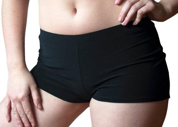 Black Short Shorts Hot Shorts Under-dress shorts Festival