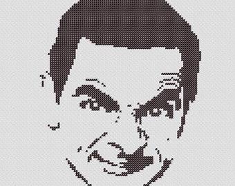 PATTERN: Mr. Bean Cross Stitch