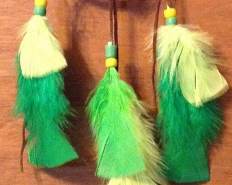 Dream Catcher green Glow in the dark