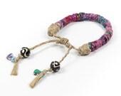 Tribal Bracelet, Woven Friendship Bracelet, Tassel Bracelet, Bohemian, Tribal, African Style, Unique Bracelets, Ethnic Style,  Gift for her