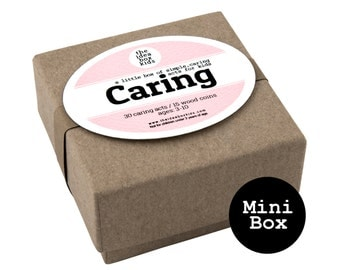 Mini Caring Box, Kids Party Favors, Teaching Empathy, Community Party, Acts of Kindness, Preschool Valentines Party, Kids Valentines Gift